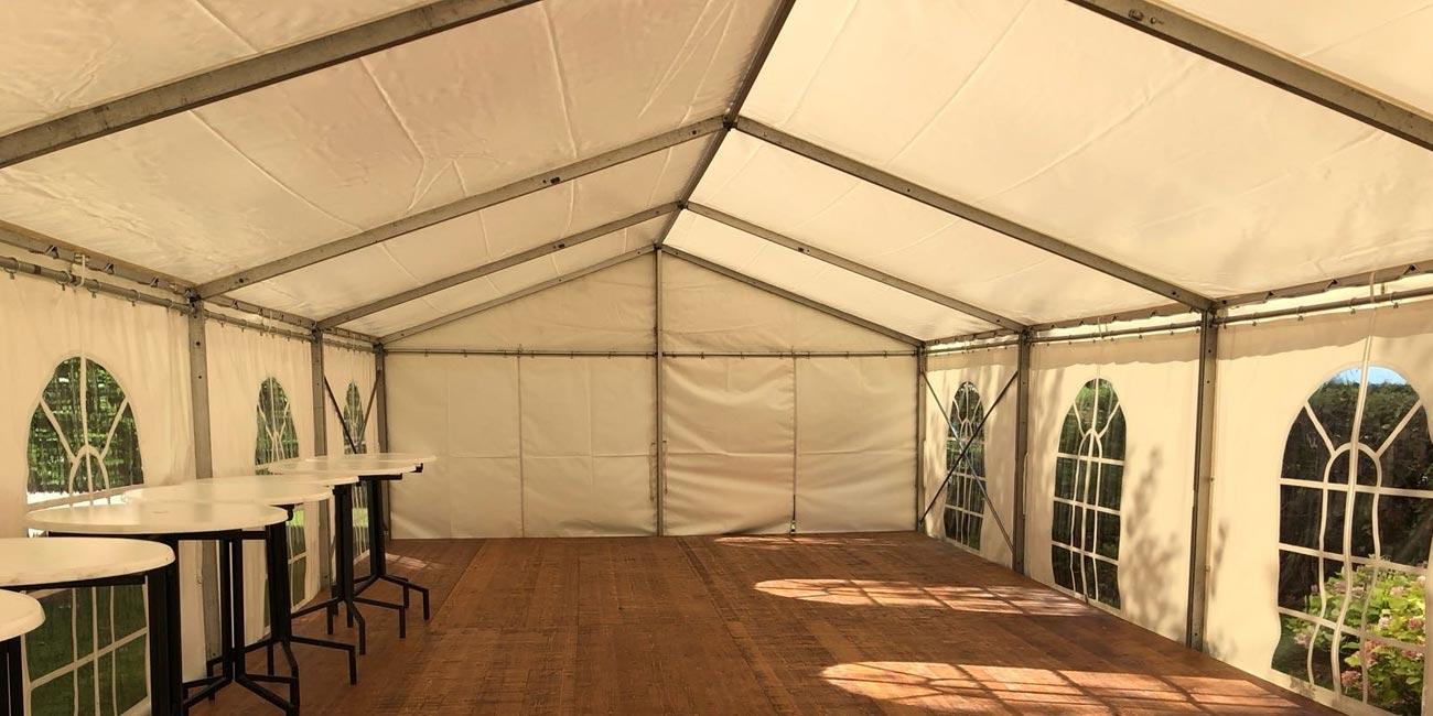 Plancher de tentes