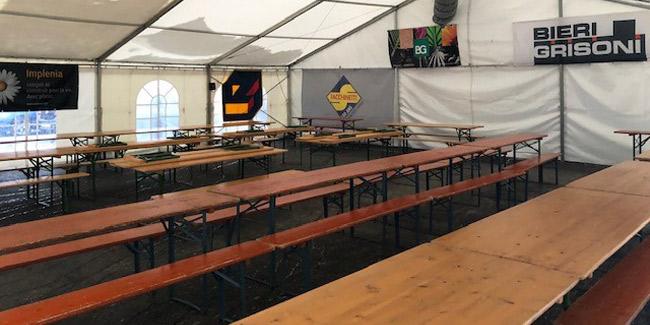 Tables pour tentes